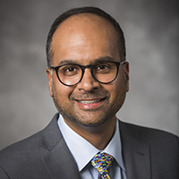 Photo of                                   Ashish B. Patel MD, MBA