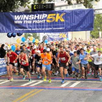 Winship Win the Fight 5K beats fundraising goal to help battle cancer