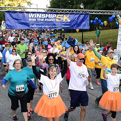 Winship 5K raises record amount to benefit cancer research