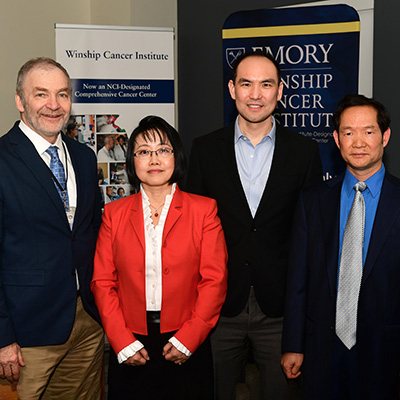 Winship awards three new endowed chairs
