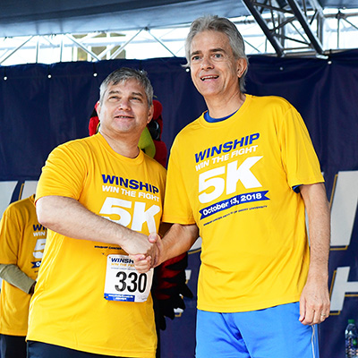 Winship names two 2018 Winship 5K Endowed Professors