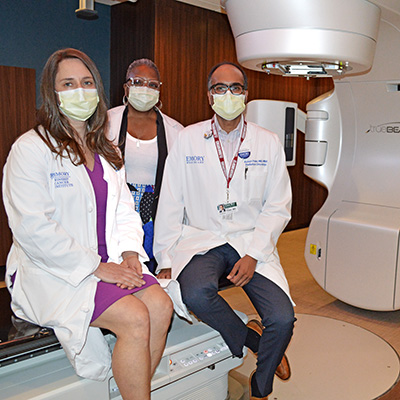 New linear accelerator offers cancer patients high-tech treatment at Emory Decatur Hospital