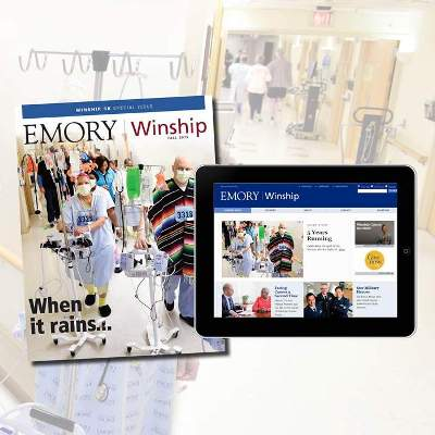 Winship Magazine Fall 2015 issue now available