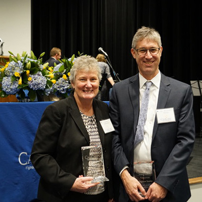 Szabo and Masters honored at CanCare anniversary celebration