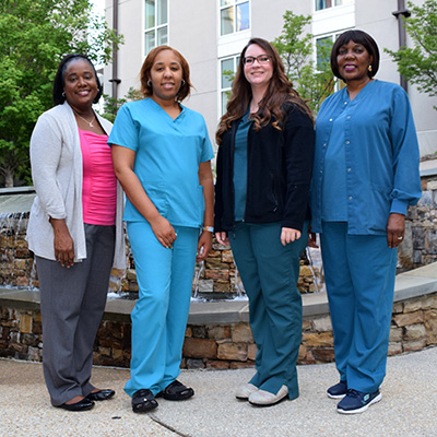 Nursing awardees named