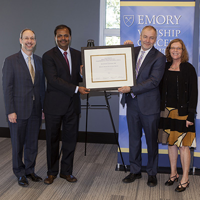 Ramalingam honored with Goizueta Chair for Cancer Research at Winship