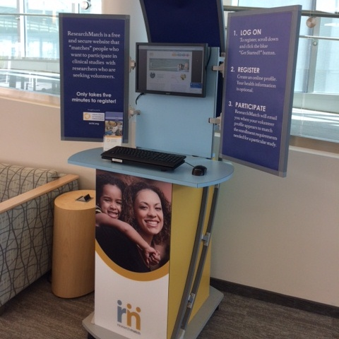 ResearchMatch Kiosk Visits Winship