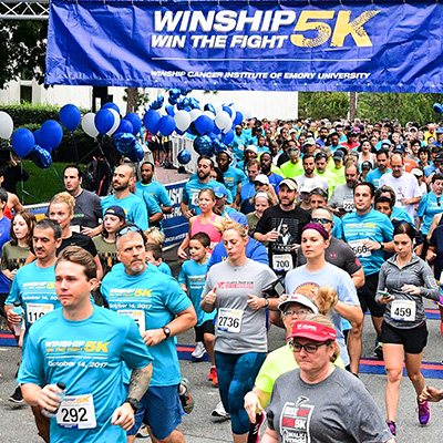 Winship 5K on pace to raise record amount