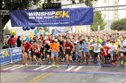 Photo of Winship Win the Fight 5K beats fundraising goal to help battle cancer