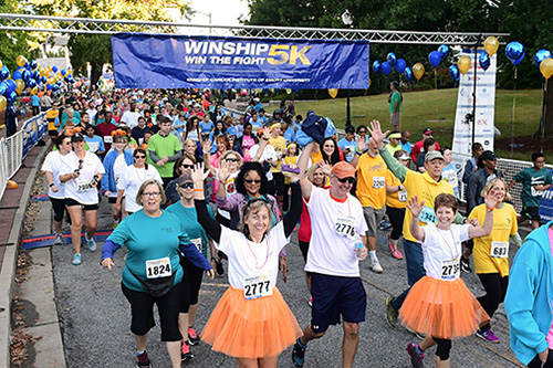 Photo of Winship 5K raises record amount to benefit cancer research