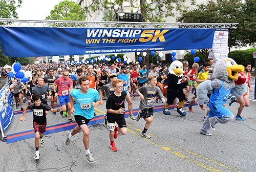 Photo of Winship 5K raises over $803,000 for cancer research