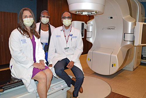 Photo of New linear accelerator offers cancer patients high-tech treatment at Emory Decatur Hospital