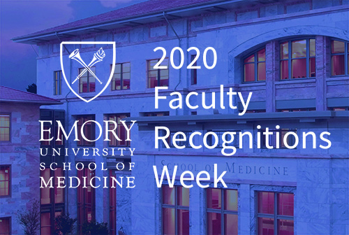 Photo of Winship members among Emory School of Medicine honorees