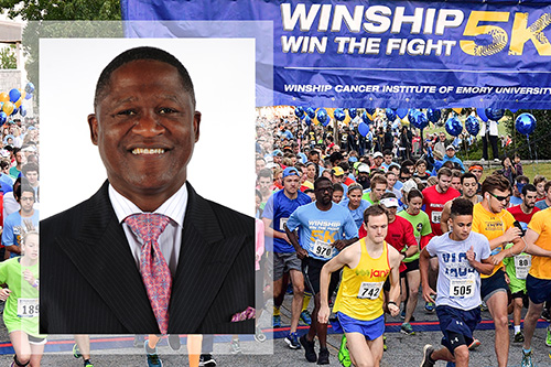 Photo of Wilkins to serve as Winship 5K Grand Marshal
