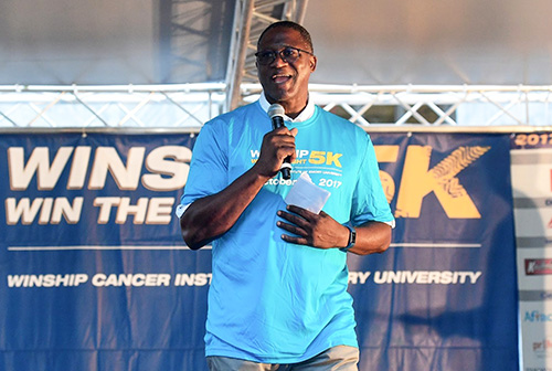 Photo of NBA Hall of Famer to kick off Winship 5K on October 13