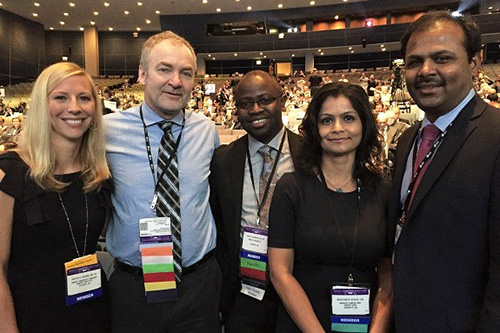 Photo of Winship members present important findings at ASCO 2017
