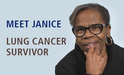 Meet Janice, Winship lung cancer patient.